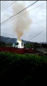 Explosão em sub estação afeta abastecimento de energia