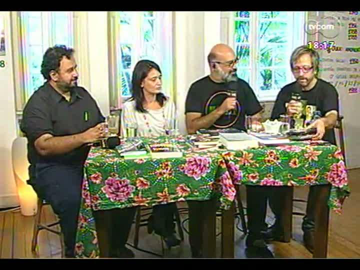 Café TVCOM - Thedy Corrêa fala de música e apresenta alguns discos novos - Bloco 2 - 13/04/2013