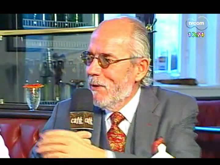 Café TVCOM - Crime dos taxistas de Porto Alegre e Santana do Livramento - Bloco 2 - 20/04/2013