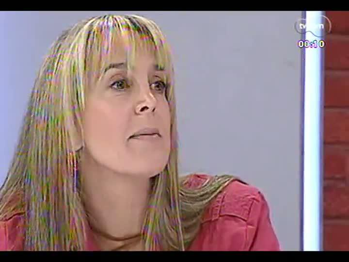 Mãos e Mentes - Pós-graduada em psicopedagogia clínica e institucional, a artista plástica Cláudia Zirbes - Bloco 4 - 24/05/2013