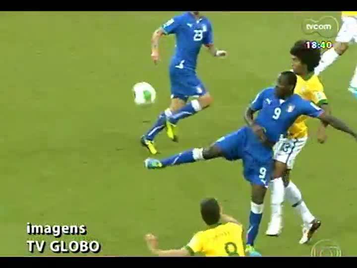 Fanáticos TVCOM - Luiz Alano e convidados repercutem a vitória de Brasil 4 x 2 Itália na Copa das Confederações - bloco 3 - 22/06/2013