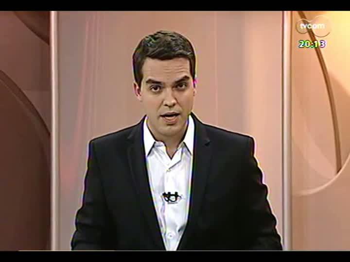 TVCOM 20 Horas - Entrevista com o presidente da Câmara de Vereadores de Porto Alegre - Bloco 2 - 10/07/2013