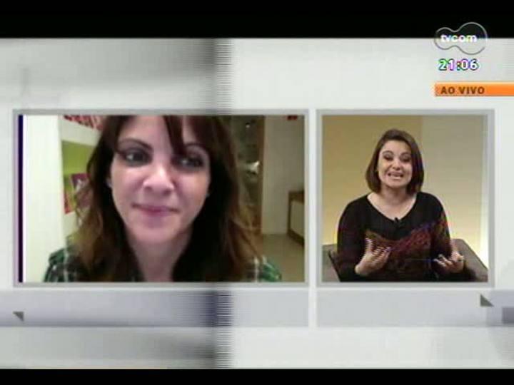 TVCOM Tudo Mais - Escritora Thalita Rebouças fala sobre seu novo livro, que é sucesso entre os adolescentes