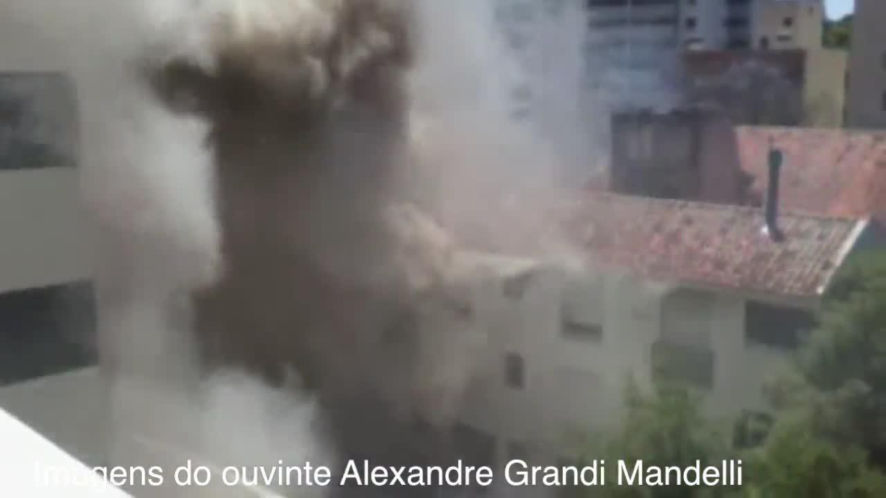Confira as imagens do incêndio na avenida Casemiro de Abreu. 29/10/2013