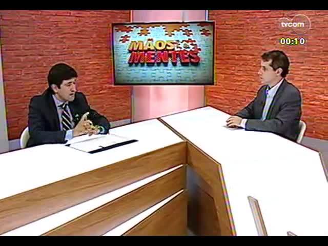 Mãos e Mentes - Superintendente financeiro do Hospital Moinhos de Vento, Mohamed Parrini - Bloco 4 - 31/10/2013