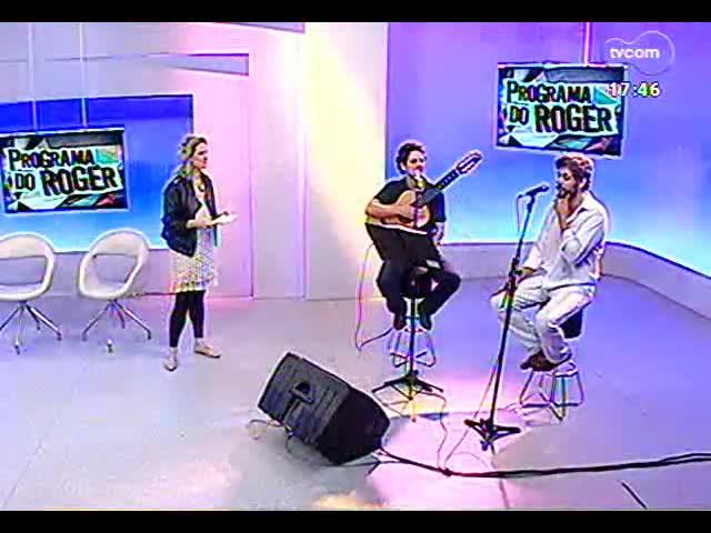 Programa do Roger - Entrevista com os músicos do projeto \'Maestro malandro e o poeta - especial Tom, Chico e Vinícius\' - bloco 1 - 01/11/2013