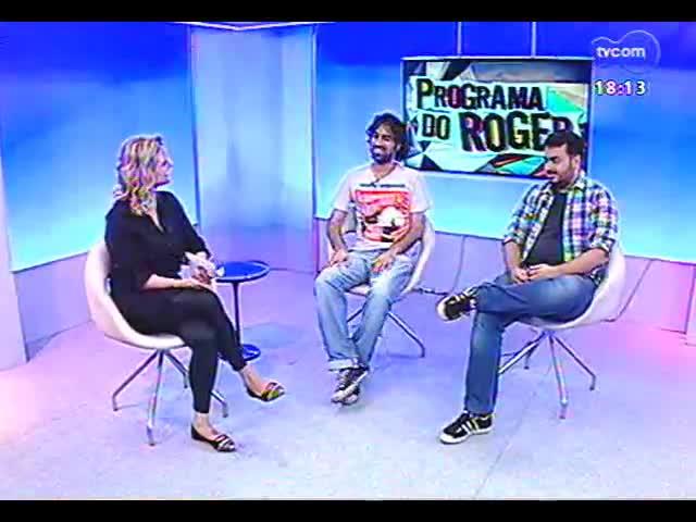 Programa do Roger - Saiba mais sobre o Festival de Roteiro Audiovisual de Porto Alegre - bloco 3 - 05/11/2013