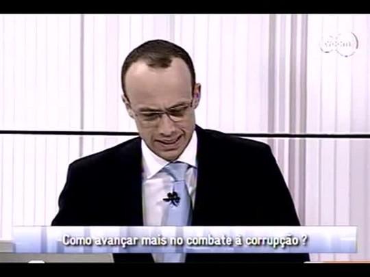 Conversas Cruzadas - 4o bloco - Combate à corrupção - 12/12/2013