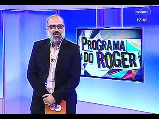Programa do Roger - Bate-papo e o som de Bebeto Alves e o Grupo Los Blackbagualnegovéio - Bloco 1 - 17/12/2013