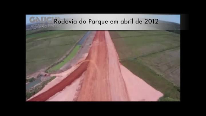 Confira antes e depois das obras na Rodovia do Parque. 19/12/2013