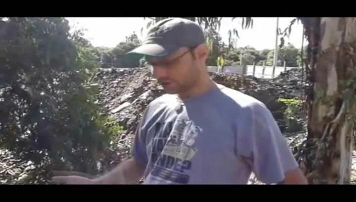 Biólogo avalia aterro no interior de Caxias