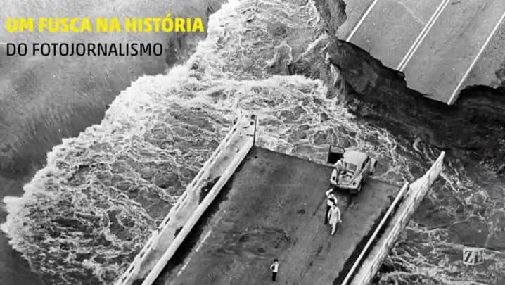 Um fusca na história do fotojornalismo