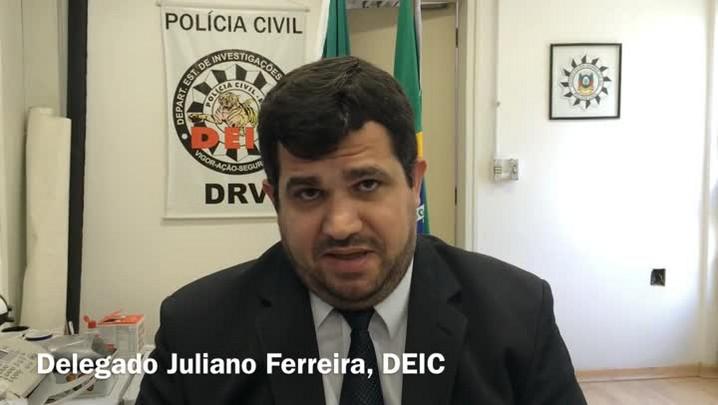 Bandido Seco comandava roubos de veículos e tráfico de drogas de dentro da Pasc