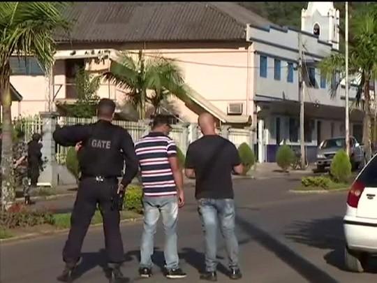 TVCOM 20 Horas - 3 ataques a bancos no Estado em um único dia - 06/03/15