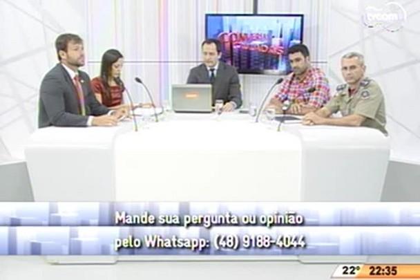 Conversas Cruzadas - Ministério Público denuncia autor de crime na Fields - 3º Bloco - 08.04.15