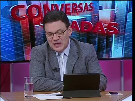 Conversas Cruzadas - Programa sobre surto de meningite no Rio Grande do Sul - Bloco 3 - 17/07/2015