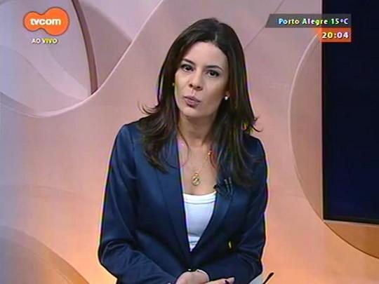 TVCOM 20 Horas - Sartori faz articulação com base aliada para convencer partidos a votar a favor do aumento do ICMS - 24/08/2015