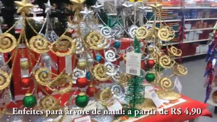 Confira alguns produtos para enfeitar sua casa neste Natal