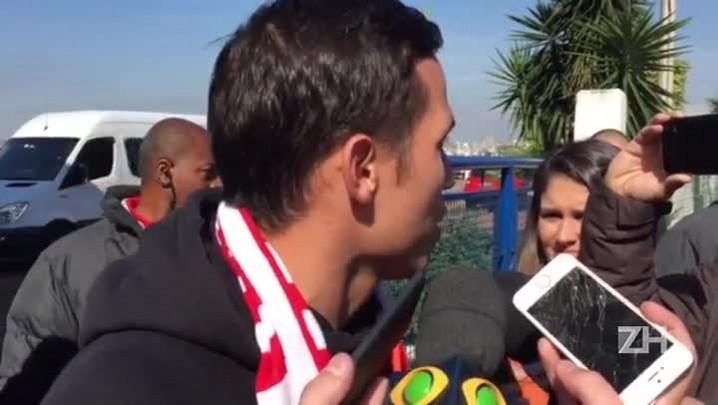 """Seijas chega a Porto Alegre: \""""Gana e garra\"""""""