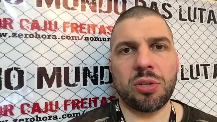 Caju Freitas comenta a luta de Anderson Silva