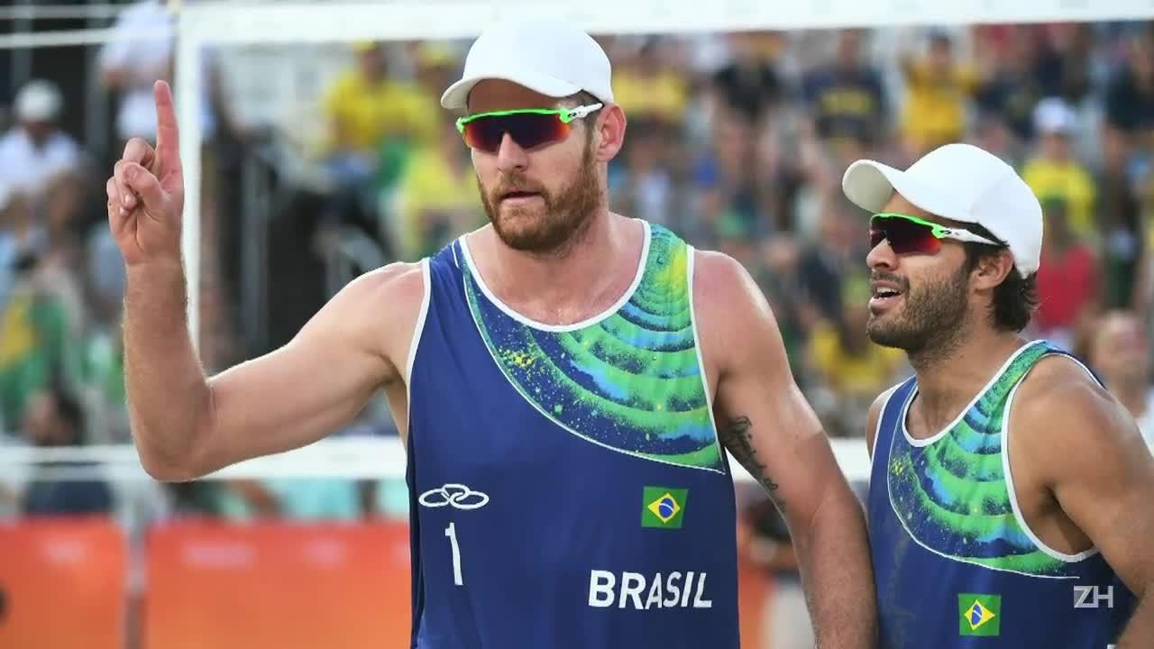 Alison e Bruno garantem vaga na semifinal