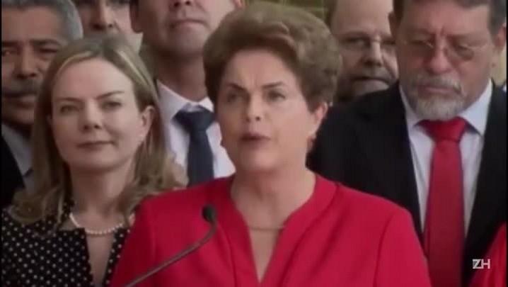 Uma conversa entre os discursos de posse e queda de Temer e Dilma