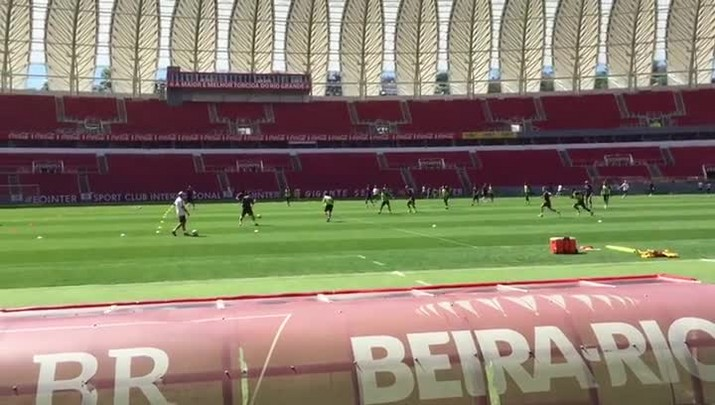 Treino do Inter no Beira-Rio