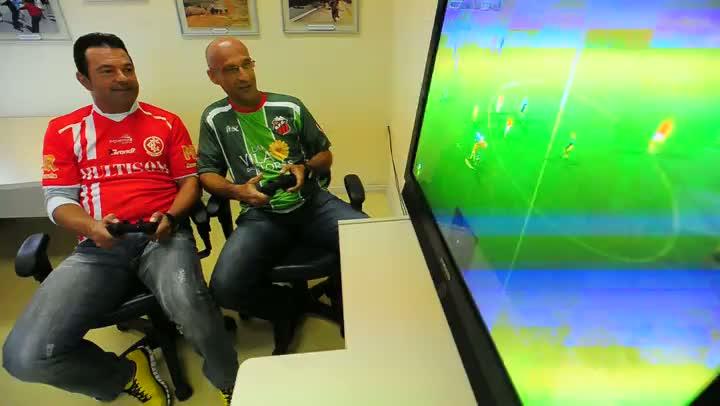 Técnicos da dupla Rio-Nal disputam clássico no videogame