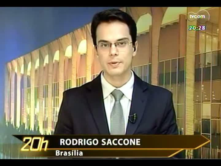 TVCOM 20 Horas - Detalhes sobre o encontro de Fortunati com a presidente Dilma - Bloco 3 - 08/07/2013