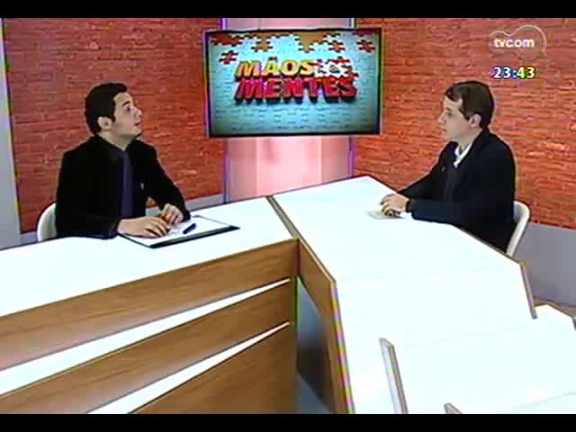 Mãos e Mentes - Thiago Guedes, diretor executivo da Chip Inside - Bloco 2 - 24/09/2013
