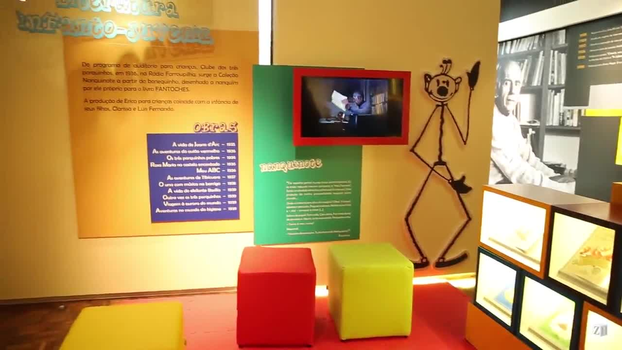 Erico Verissimo: conheça o memorial de originais do escritor, uma exposição permanente no Centro Cultural CEEE Erico Verissimo