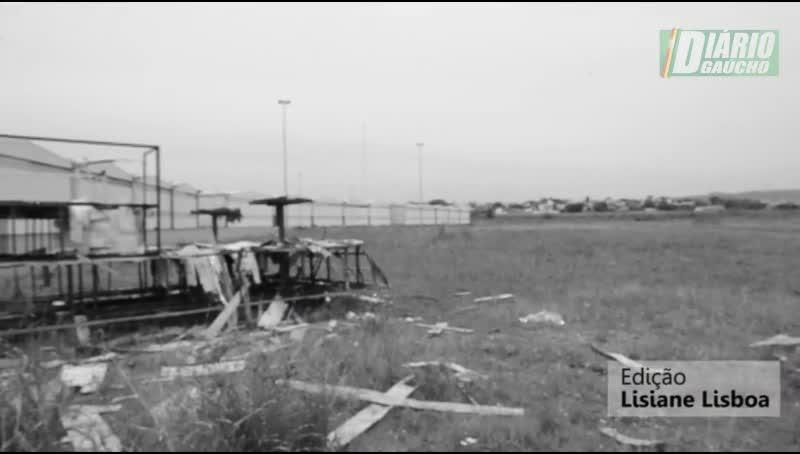 O abandono do Sambódromo de Porto Alegre