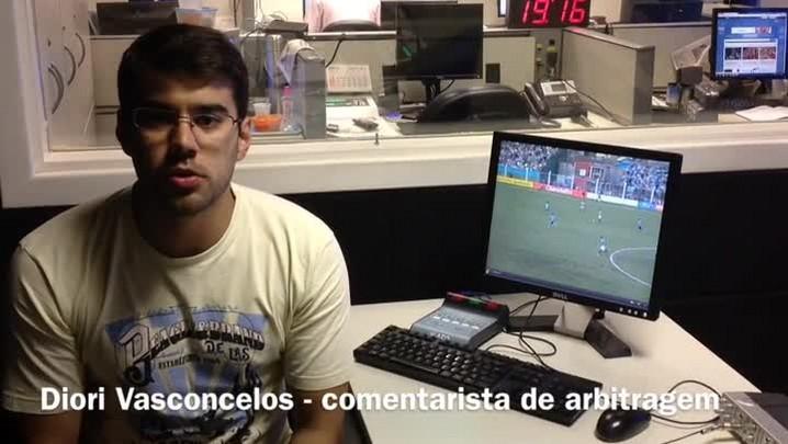 Confira analise da arbitragem de São Paulo e Grêmio. 01/03/2014