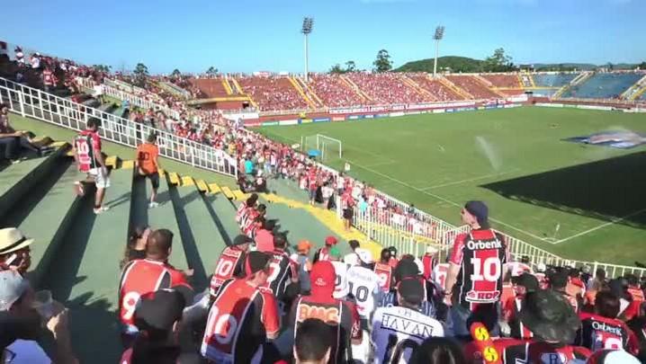 As emoções de JEC x Figueirense na final do Catarinense 2014