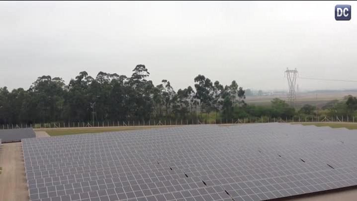 A maior usina solar da América Latina