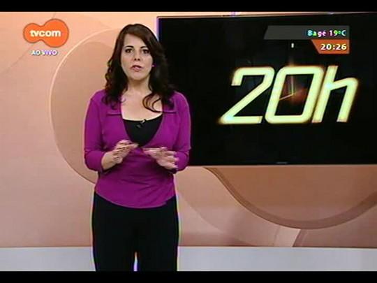 TVCOM 20 Horas - As informações do trânsito em torno do Beira Rio - Bloco 3 - 24/09/2014