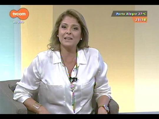 TVCOM Tudo Mais - Roger Lerina entrevista Luzimar Stricher e Airton Ortiz na Praça da Alfândega
