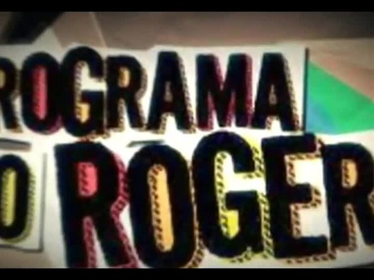 """Programa do Roger - Eliandro Rocha, organizador \""""Traçando Histórias\"""" - Bloco 3 - 04/11/2014"""
