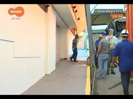 TVCOM 20 Horas - Termina a limpeza da Boate Kiss em Santa Maria - 10/12/2014