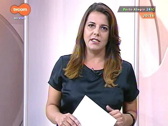 TVCOM 20 Horas - Jornalista mostra lições de intolerância e de como burlar a lei em curso que deveria formar taxistas - 18/03/2015