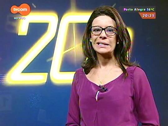 TVCOM 20 Horas - Secretário de Fazenda diz que governo Tarso relaxou em metas fiscais previstas em contratos com o governo federal - 07/05/2015