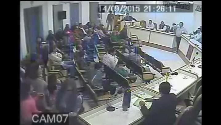 Bate-boca entre os vereadores e CCs na câmara de vereadores de Rosário do Sul