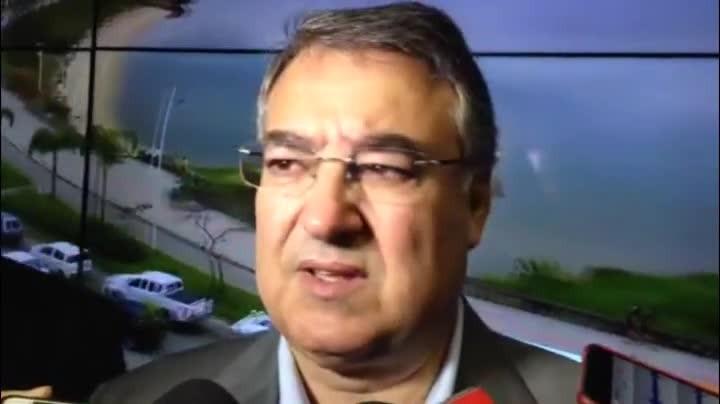 Raimundo Colombo elogia nova Central de Monitoramento de São José