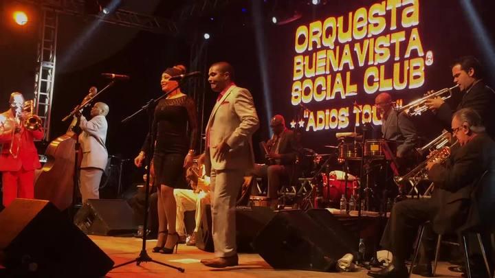 O clima da apresentação do Buena Vista Social Club em Florianópolis