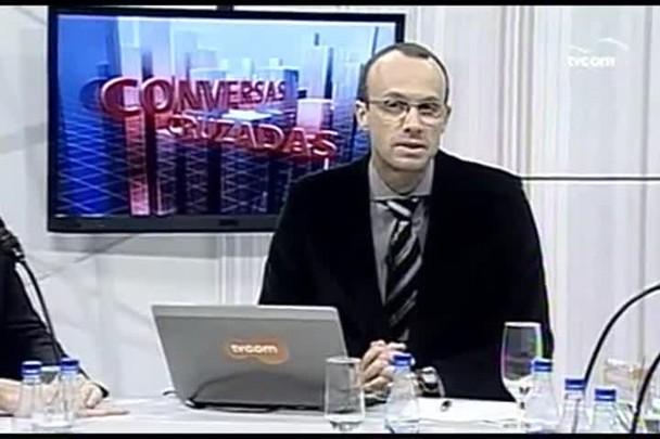 TVCOM Conversas Cruzadas. 3º Bloco. 17.06.16