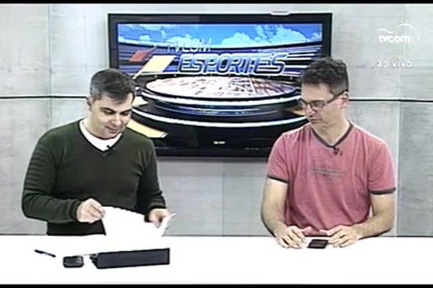TVCOM Esportes. 1º Bloco. 05.07.16
