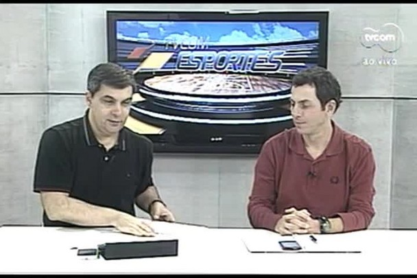 TVCOM Esportes. 3º Bloco. 25.08.16