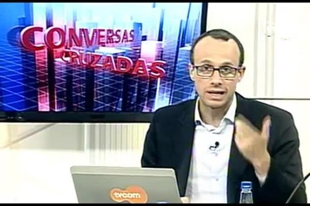 TVCOM Conversas Cruzadas. 4º Bloco. 03.10.16