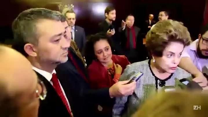 """Dilma sobre aprovação da reforma trabalhista: \""""Estou de luto pelo Brasil\"""""""