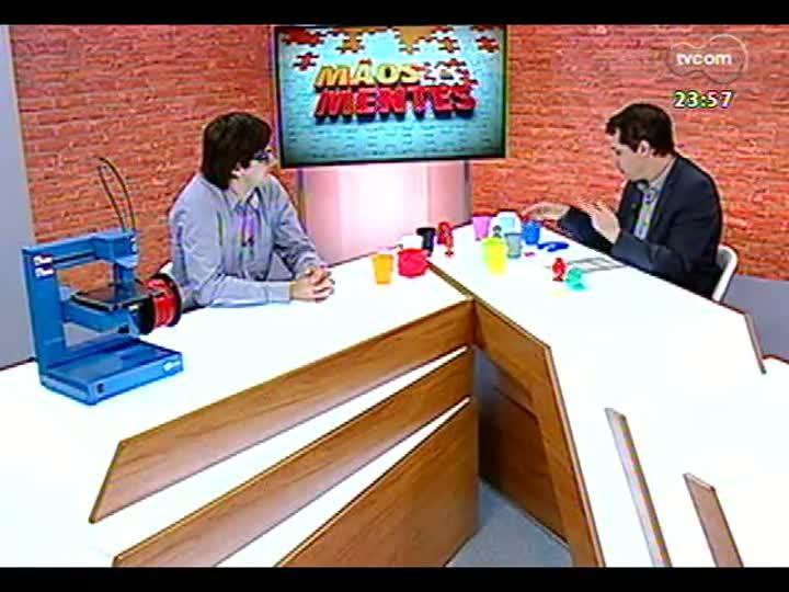 Mãos e Mentes - Rodrigo Krug, empresário criador da impressora 3D 100% nacional - Bloco 3